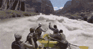 Rafting yaparken canından oluyordu Dehşet görüntüler