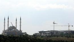 Cumhurbaşkanlığı Sarayı'nın camisi bugün açılıyor