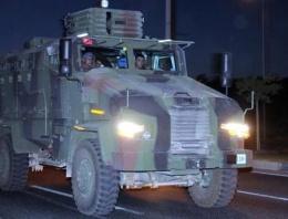 Askeri konvoy Gaziantep'e ulaştı!