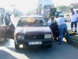 Yayaya çarpan otomobil sürücüsü öldü