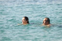 Denizde romantik dakikalar!