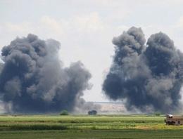 ABD'den IŞİD'e şok hava saldırısı!