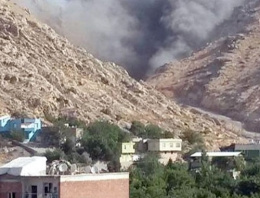 Silvan'da askeri araca bombalı saldırı