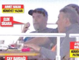 Ahmet Hakan'ın tekne orucunu kim sızdırdı?