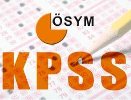 KPSS sonuçları 2015 ÖSYM sorgu paneli