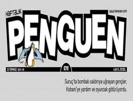 Erdoğan'ın şehit cenazesindeki konuşması Penguen'de
