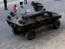 Van'da Askeri araca saldırı!