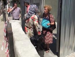 Üsküdar'da 7 bina tahliye edildi