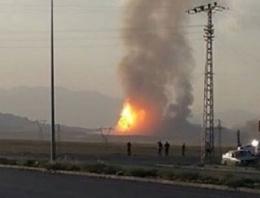 Ağrı'da doğalgaz boru hattına saldırı!