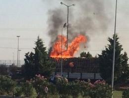 Mehmetçik Vakfı tesislerinde yangın!