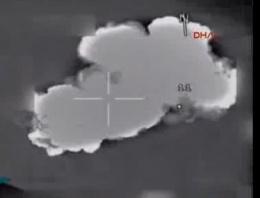 TSK PKK hedeflerini böyle vurdu