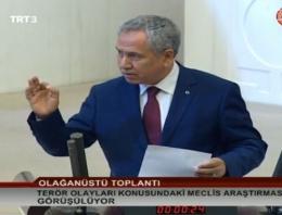 Arınç'ın HDP'li vekile sözleri ortalığı karıştırdı!