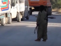 O yol ulaşıma açıldı PKK da ortaya çıktı!