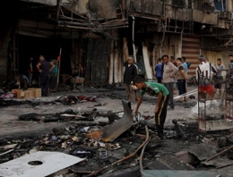 İŞİD Bağdadı bombaladı