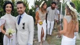 Merve Boluğur ve Murat Dalkılıç'tan çifte düğün!