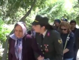 Kadın astsubaydan şehit annesine bomba sözler!