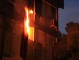Tunceli'de PKK'lılar Türk bayrağı yaktı