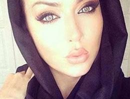 Müslümanlığı seçen güzelin peşine düştüler!