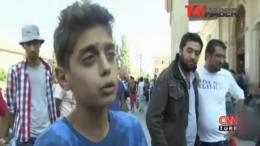 Suriyeli çocuktan dünya liderlerine mesaj