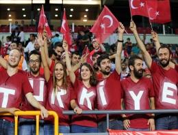 Konya'da eleme maçına büyük ilgi