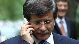 Davutoğlu'ndan rehine Türk işçiler için telefon