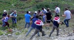 Rize'de tepki çeken olay! Köylüler askerleri dövdü