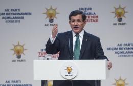 Davutoğlu'ndan AK Parti seçim vaatleri!