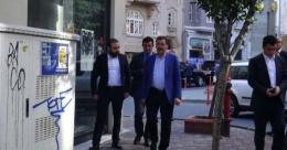 Melih Gökçek'ten Ahmet Hakan'a ziyaret!