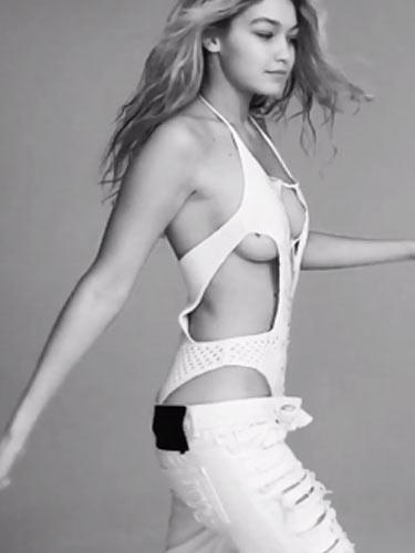 Gigi Hadid'den Victoria's Secret özel çekimi!