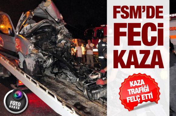 FSMköprüsündefeci kaza!