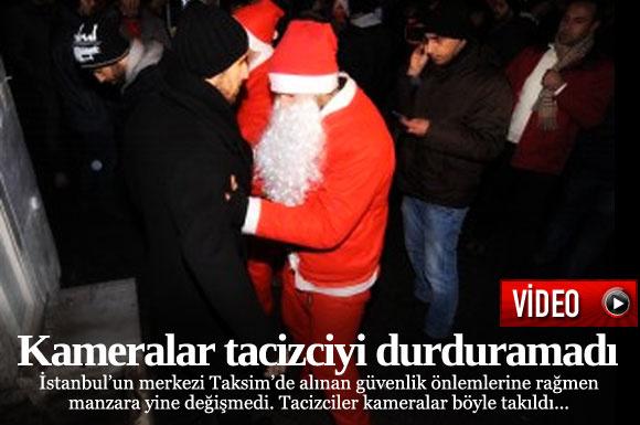 İstanbul Taksim'de yeni yıl coşkusunu yaşamak isteyen kadın tacize uğradı