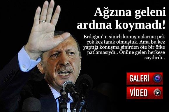 Başbakan Recep Tayyip Erdoğan BDP lideri Selahattin Demirtaş'a çok ağır sözlerle yüklendi