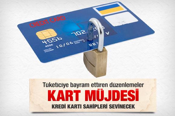 Kredi kartı sahiplerine müthiş haber