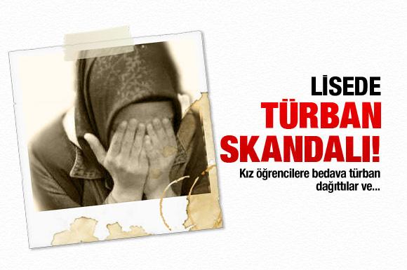 Malatya'da şimdi de türban skandalı!