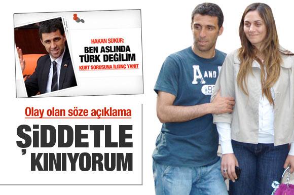 Hakan Şükür'den Türk değilim açıklaması