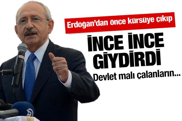 Kılıçdaroğlu hükümete ince ince giydirdi
