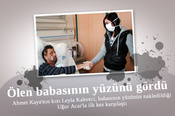 Ahmet Kaya'nın kızı, babasının yüzü nakledilen Acar'la bir araya geldi