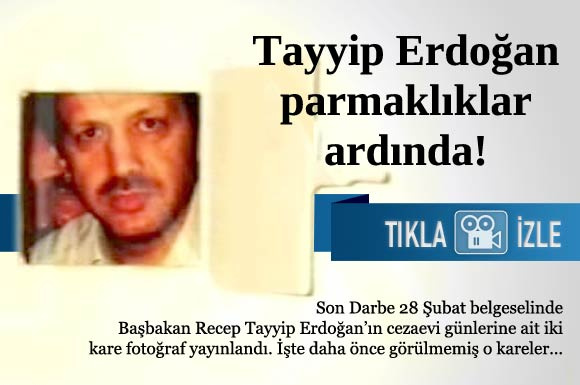 Recep Tayyip Erdoğan'ın cezaevi günlerinde çekilmiş olan iki fotoğraf ilk kez yayınlandı...