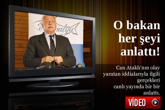 Kanal A'da yayınlanan Bedrettin Uğur'un hazırlayıp sunduğu Siyaset Masası programındaki Yücel'in konuşması ortalığı daha da karıştıracak.