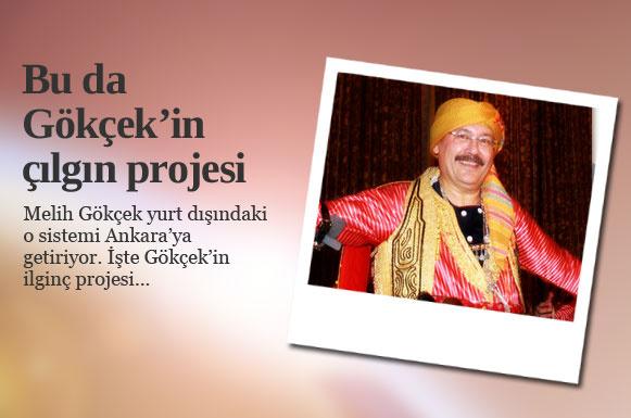 Ankara Büyükşehir Belediye Başkanı Melih Gökçek Ankara'ya yönelik projelerini anlattı