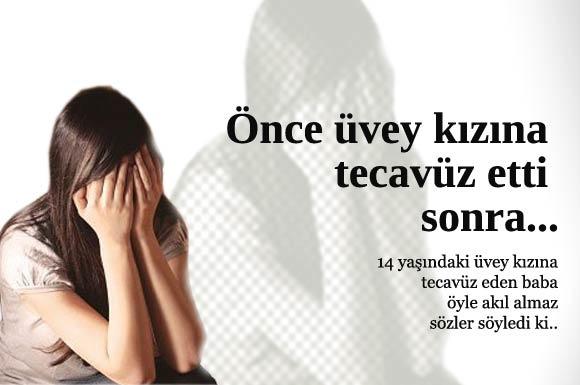 Adana'da yanlarında kalan üvey kızı 14 yaşındaki S.K.'ya tecavüz eden 42 yaşındaki Ali A. tutuklandı