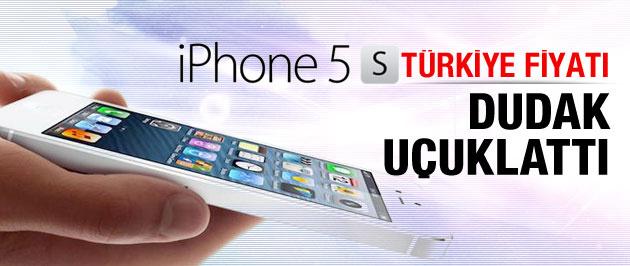 iPhone 5S'in Türkiye fiyatı belli oldu