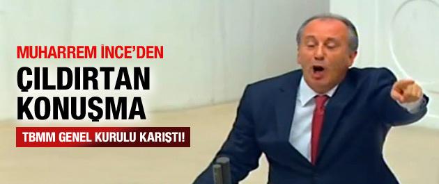 Muharrem İnce'den Tarihi Konuşma AKP'lilerde Alkışladı