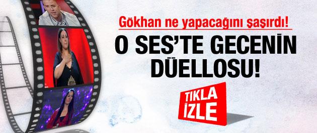 O Ses Türkiye'de Yasemin Demir Esra Eren düellosu