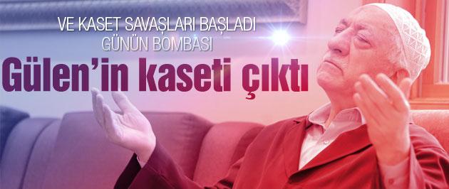 Kaset savaşı başladı Gülen'in kaseti çıktı