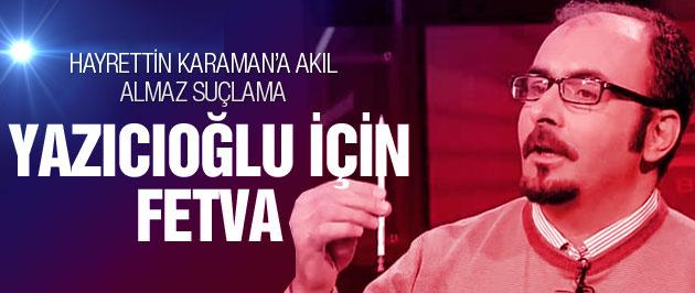 Emre Uslu'dan Yazıcıoğlu için şok iddia