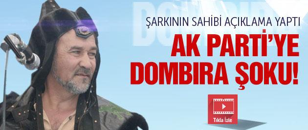 AK Parti'ye seçim şarkısı Dombıra için şok