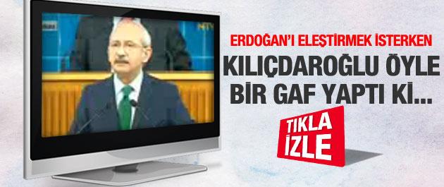 Kılıçdaroğlu'ndançok konuşulacak gaf!