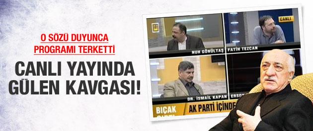 Fethullah Gülen'e emekli vaiz dedi program karıştı!