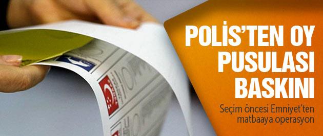 İzmir'de sahte oy pusulası baskını